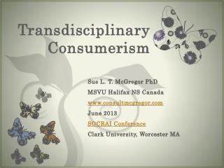Transdisciplinary Consumerism