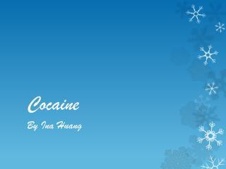 Cocain e