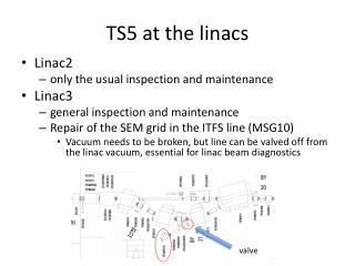 TS5 at the  linacs