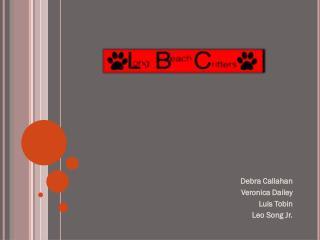 Debra Callahan Veronica Dailey Luis Tobin Leo Song Jr.