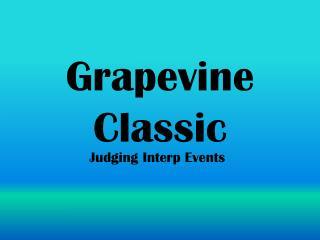 Grapevine Classic