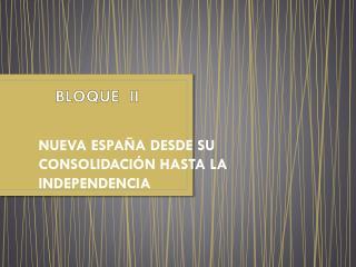 BLOQUE   I I