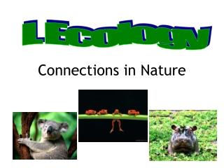 Ecology     OIKOS                .  Environment            .