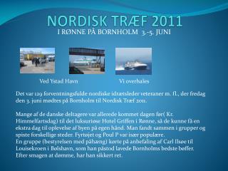 NORDISK TRÆF 2011
