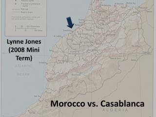 Morocco vs. Casablanca