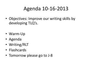 Agenda 10-16-2013