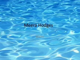 Meera Hodges