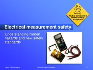 Electrical measurement safety
