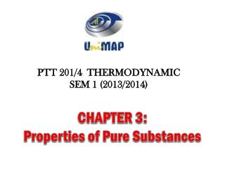CHAPTER 3: Properties of Pure Substances