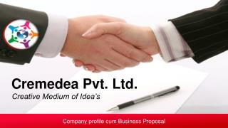 Company profile cum Business Proposal