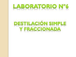 Laboratorio nº6