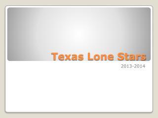 Texas Lone Stars