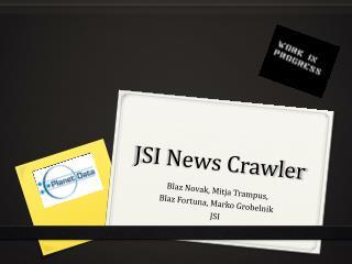 JSI News Crawler