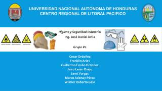 Universidad Nacional Autónoma de Honduras Centro Regional de Litoral Pacifico