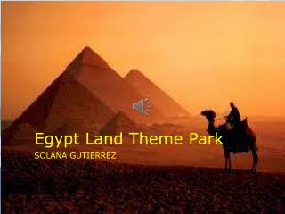 Egypt Land Theme Park