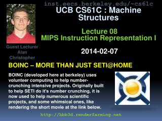 BOINC – more than just  setI@home