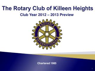 The Rotary Club of Killeen Heights