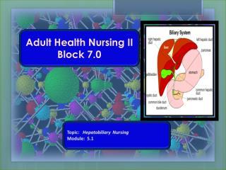 Adult Health Nursing II Block 7.0