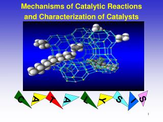 Mechanisms of Catalytic Reactions and Characterization of Catalysts
