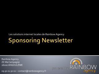 Sponsoring Newsletter