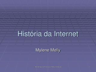Hist ria da Internet