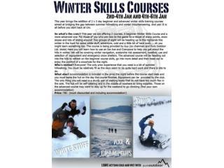 Scotland Winter Skills Courses