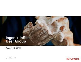 Ingenix InSite  User Group
