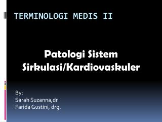 TERMINOLOGI MEDIS II
