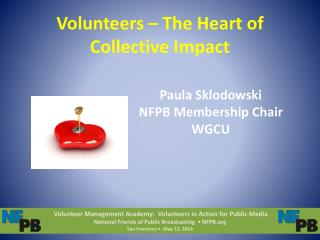Volunteers – The Heart of Collective Impact