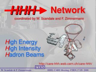 H igh Energy H igh Intensity H adron Beams