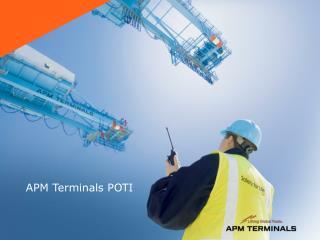 APM Terminals POTI