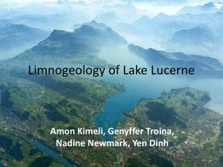 Limnogeology  of Lake Lucerne