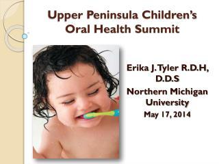 Upper Peninsula Children's Oral Health Summit