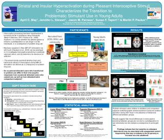 Research Supported by NIDA R01 DA016663-01