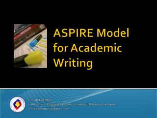 ASPIRE Model  for Academic Writing