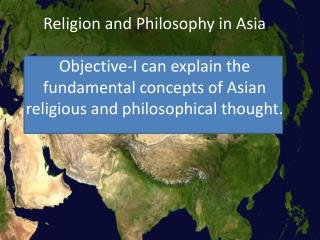 How did Asia's physical environment affect its cultural development?