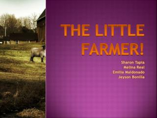 The little farmer !