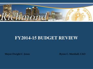 FY2014-15 BUDGET REVIEW