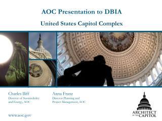 AOC Presentation to DBIA