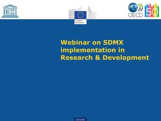 Webinar on SDMX implementation in Research & Development