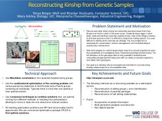Reconstructing Kinship from Genetic Samples