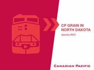 CP Grain in North Dakota