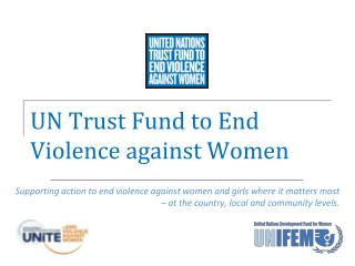 UN Trust Fund to End Violence against Women