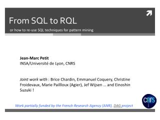 From  SQL to RQL