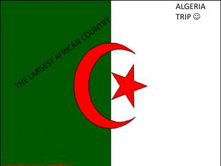 ALGERIA TRIP  