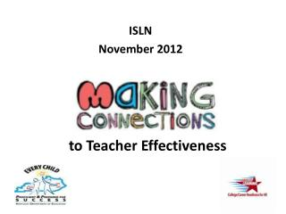 ISLN November 2012