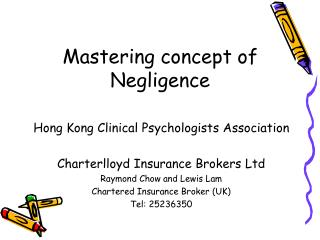Mastering concept of Negligence