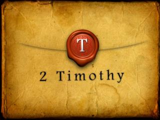 The Way Faith Ought to Be A Study of  2 Timothy