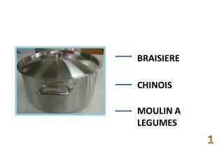 BRAISIERE CHINOIS MOULIN  A LEGUMES