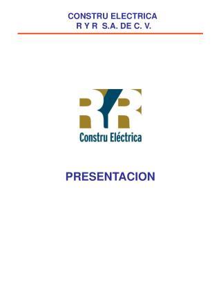 COMERCIAL ELECTRICA RIVA S. A. DE C. V.